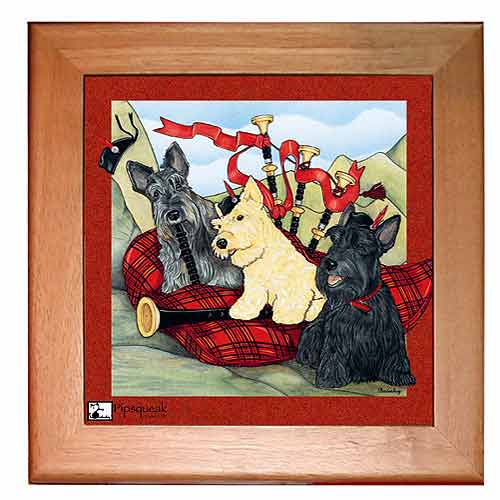 Scottish Terrier Trivet