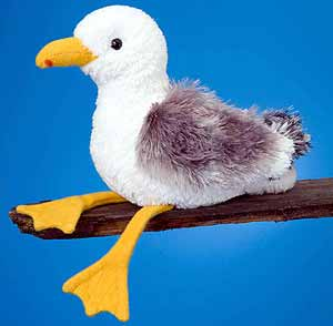 Seagull Stuffed Plush Animal