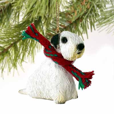Sealyham Terrier Tiny One Christmas Ornament