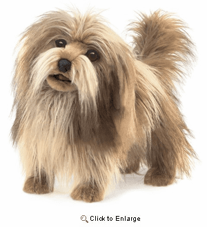 """Shaggy Dog "" Hand Puppet 20"""