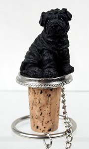 Shar Pei Bottle Stopper
