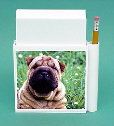 Shar Pei Hold-a-Note