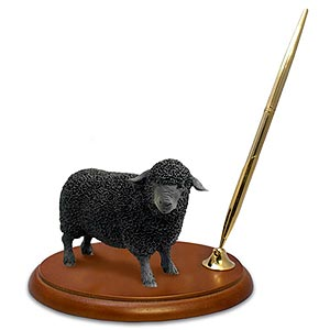 Sheep Pen Holder (Black)