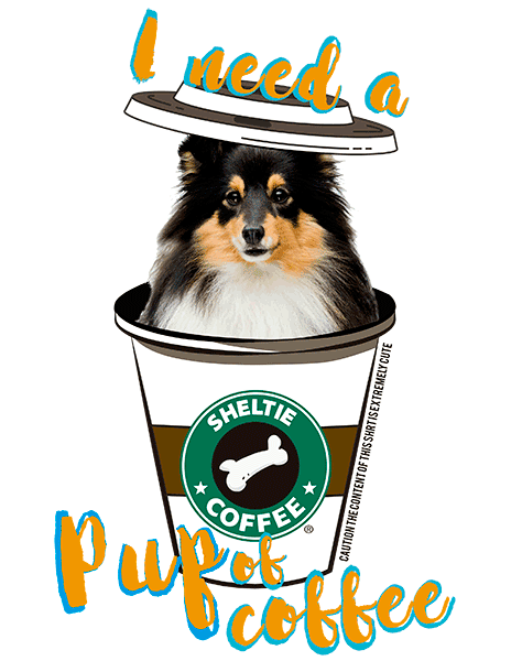 Sheltie T Shirt - Coffee Mug