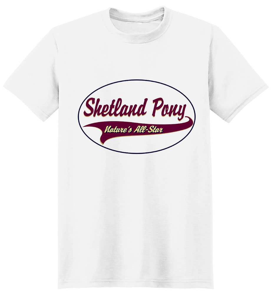 Shetland Pony T-Shirt - Breed of Champions