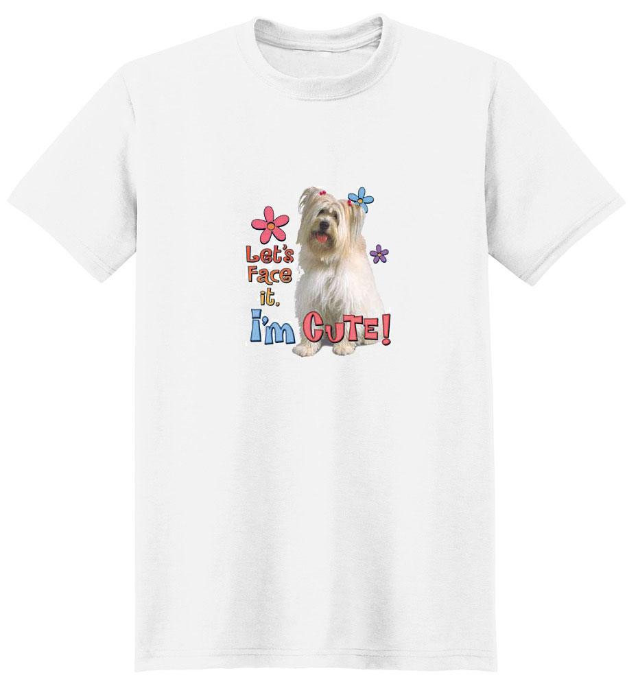 Shetland Sheepdog T- Shirt I'm Cute
