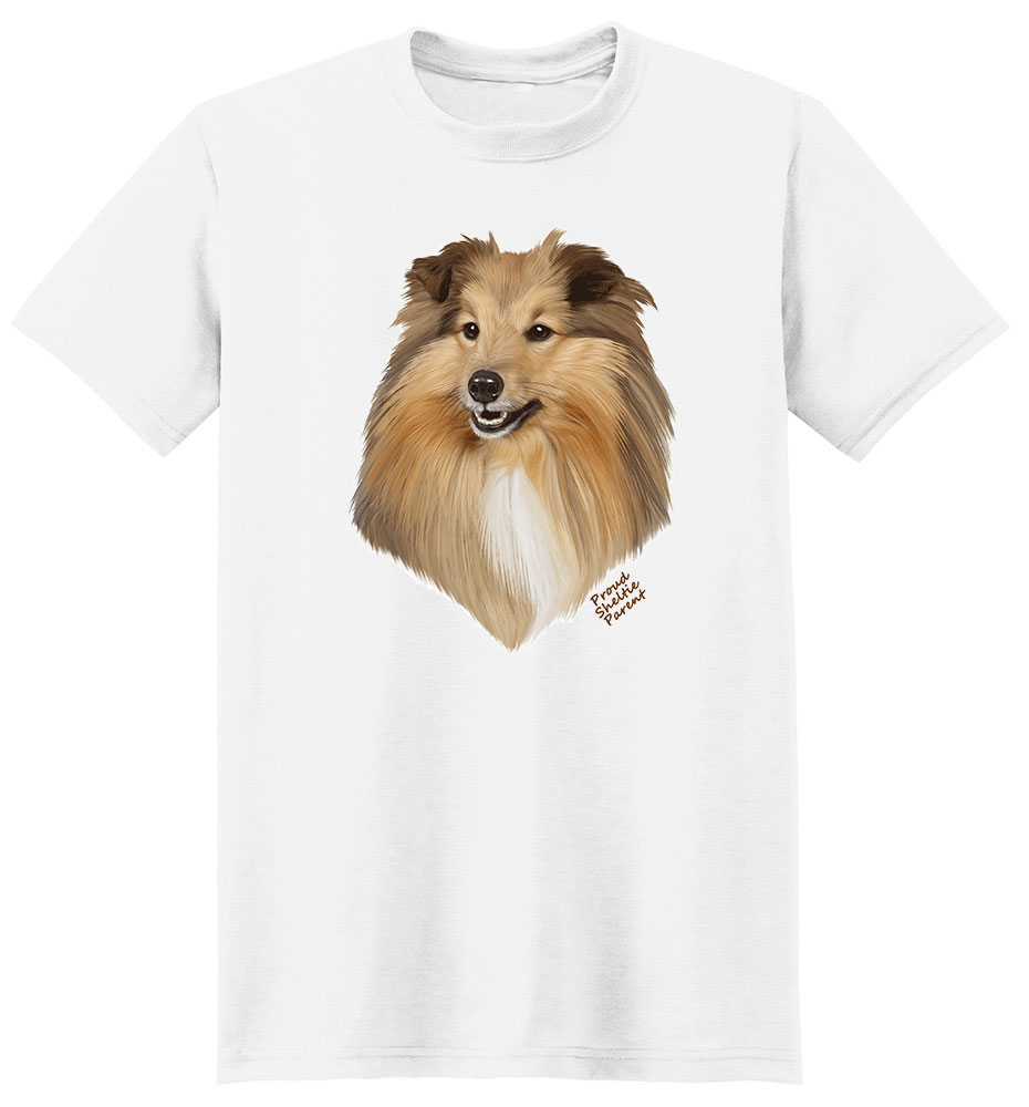 Shetland Sheepdog T Shirt - Proud Parent