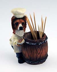 Shetland Sheepdog Toothpick Holder
