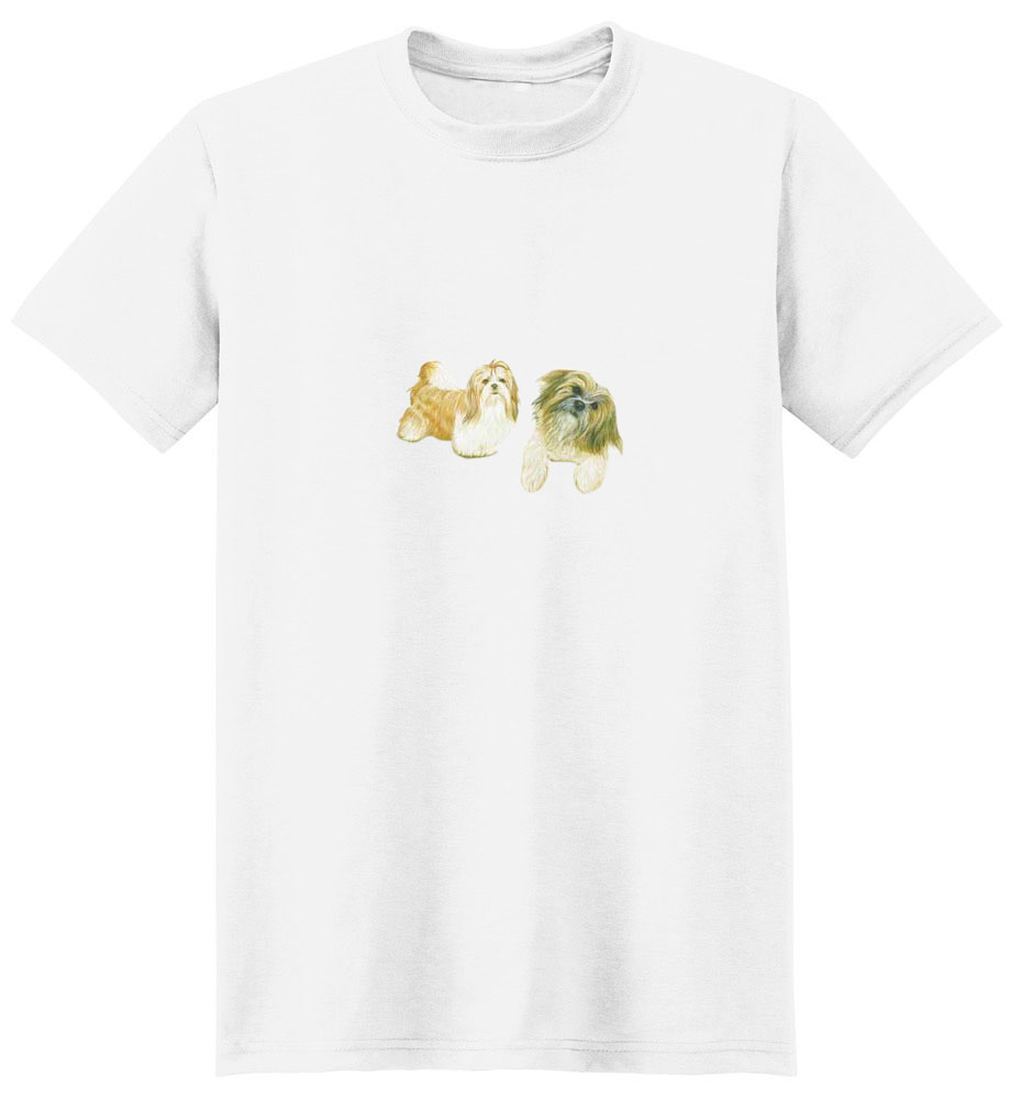 Shih Tzu T-Shirt - A Cute Couple