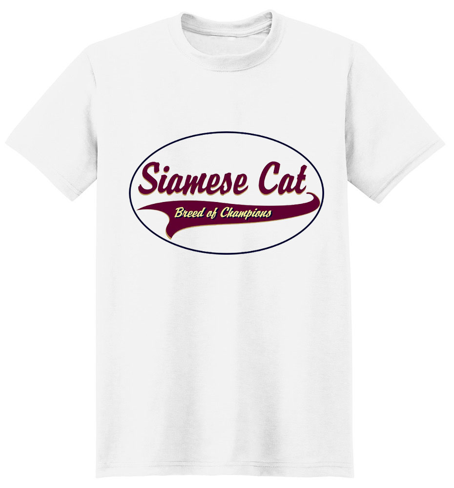Siamese Cat T-Shirt - Breed of Champions