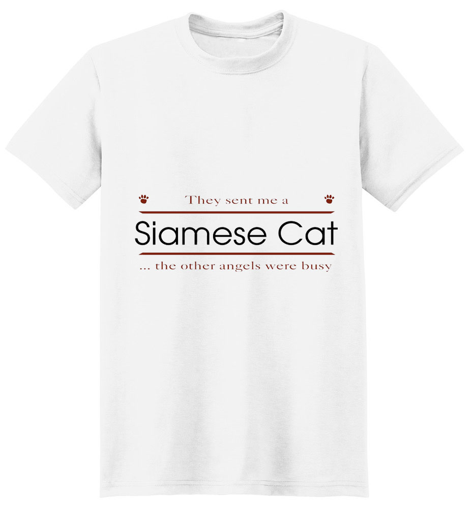 Siamese Cat T-Shirt - Other Angels