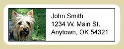 Silky Terrier Address Labels