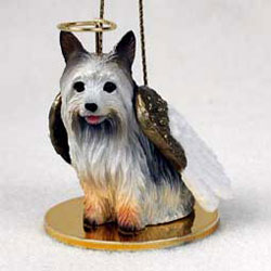 Silky Terrier Christmas Ornament Angel