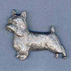 Silky Terrier Pin