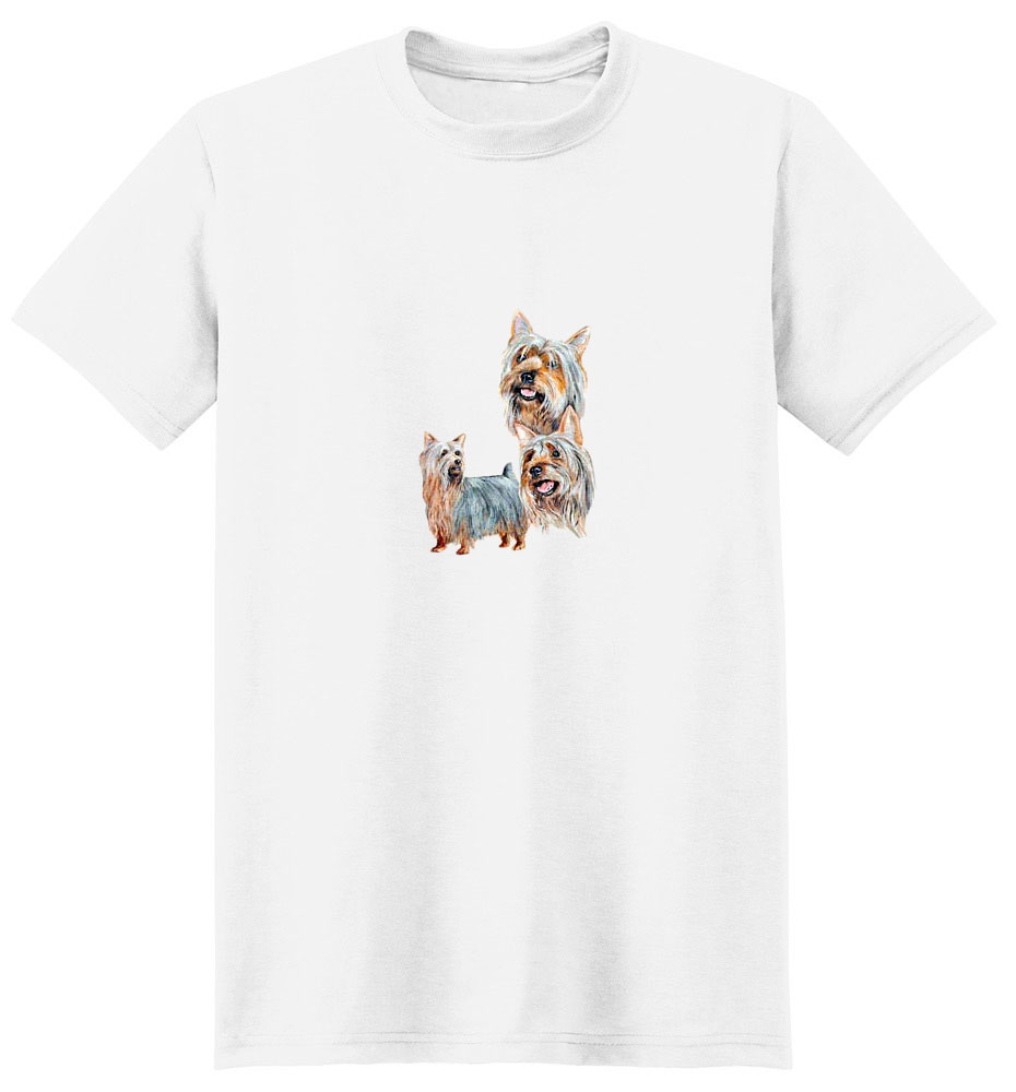 Silky Terrier T-Shirt - Best Friends
