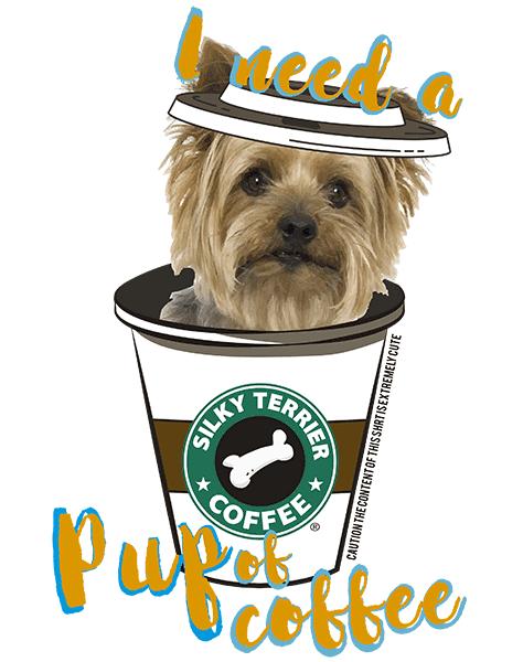 Silky Terrier T Shirt - Coffee Mug