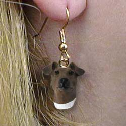 Smooth Fox Terrier Authentic Earrings