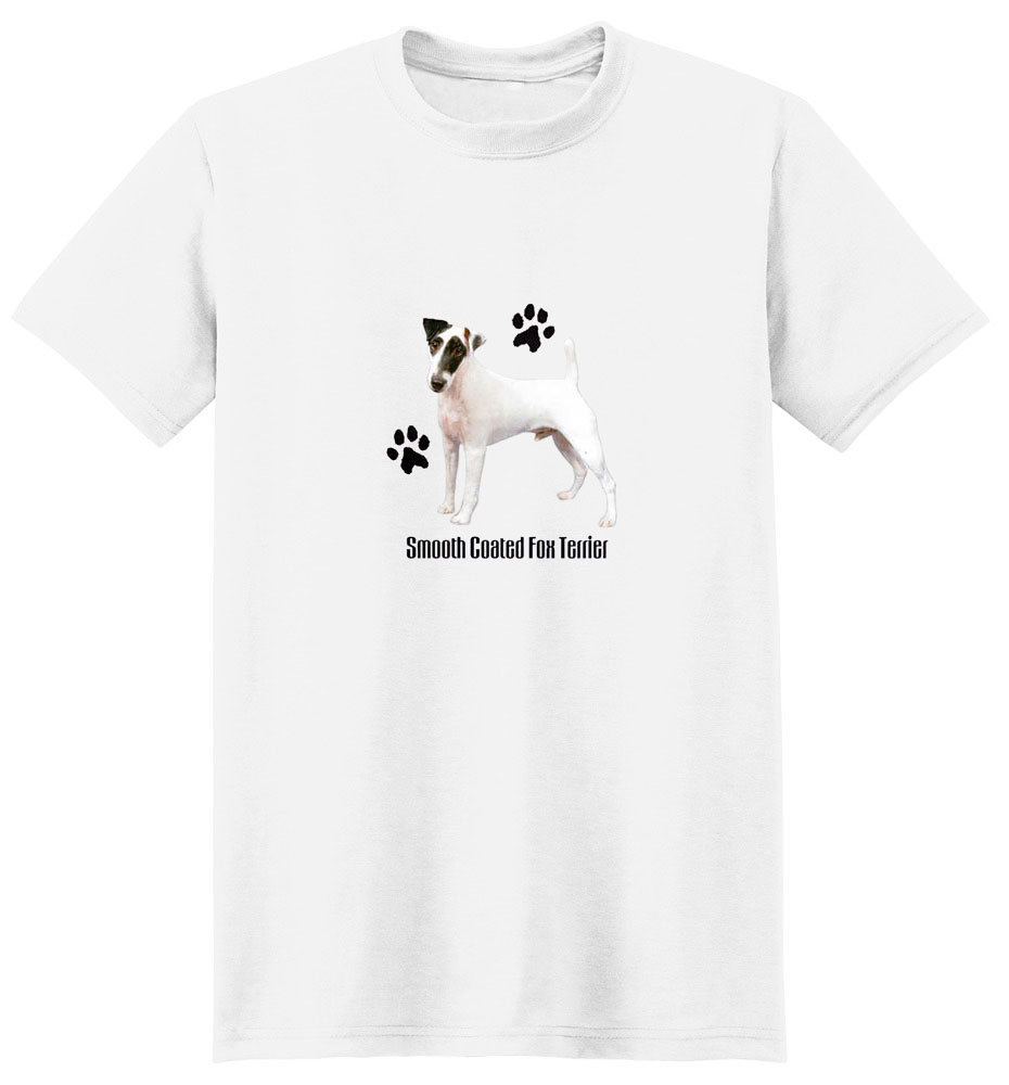 Smooth Fox Terrier T-Shirt - Stylin With Paws