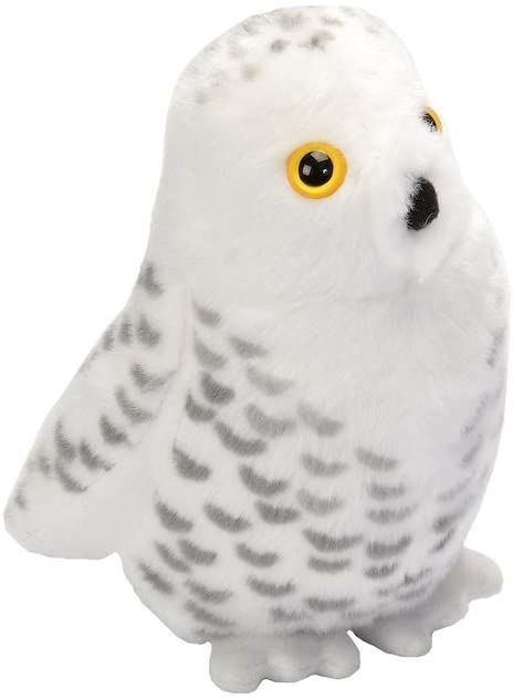 Audubon II Snowy Owl Stuffed Animal with Sound - 5