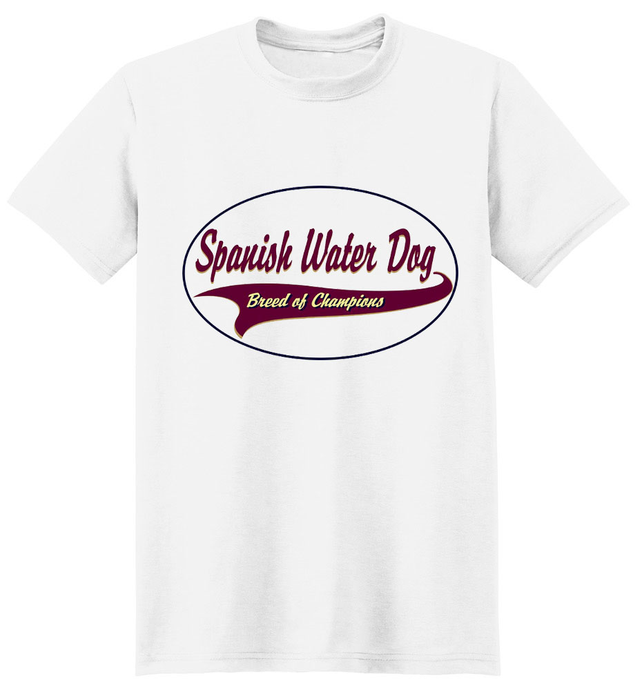 Spanish Water Dog T-Shirt - Breed of Champions