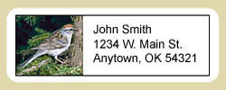 Sparrow Address Labels