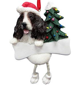 Springer Spaniel Christmas Tree Ornament - Personalize