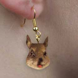 Squirrel Authentic Earrings