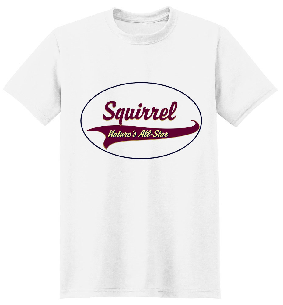 Squirrel T-Shirt - Breed of Champions