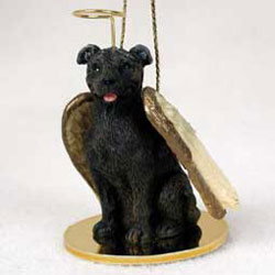 Staffordshire Bull Terrier Christmas Ornament Angel