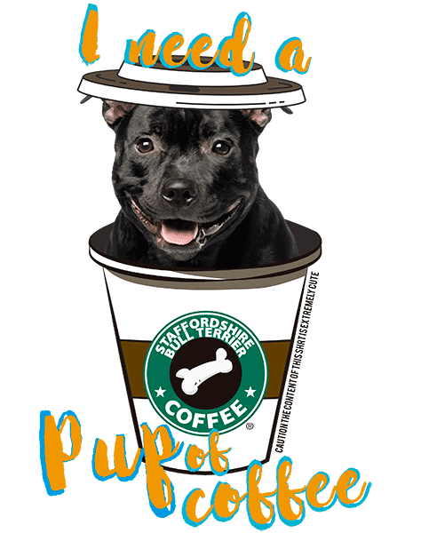 Staffordshire Bull Terrier T Shirt - Coffee Mug
