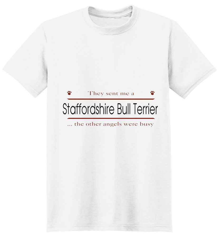 Staffordshire Bull Terrier T-Shirt - Other Angels