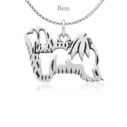 Sterling Silver Havanese Body Necklace