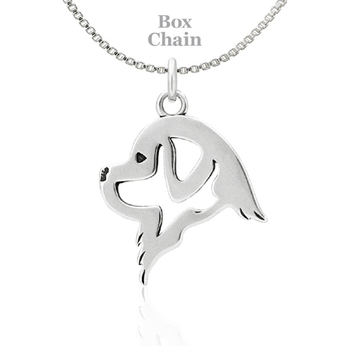 Sterling Silver Newfoundland Necklace
