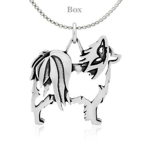 Sterling Silver Papillon Body Necklace