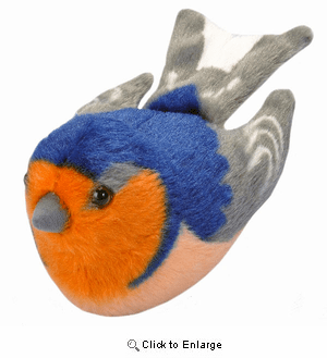 Swallow Plush with Sound