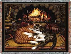 Tabby Cat Blanket