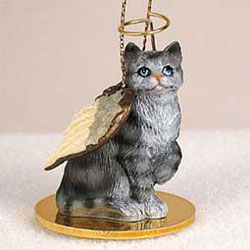 Angel Tabby Cat Christmas Ornament Angel