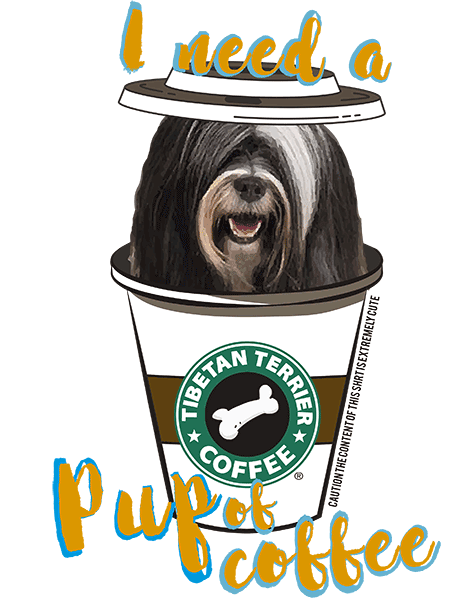 Tibetan Terrier T Shirt - Coffee Mug