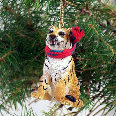 Tiger Tiny One Christmas Ornament
