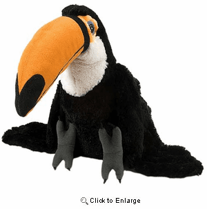 Toco the Toucan Plush Stuffed Animal 12""