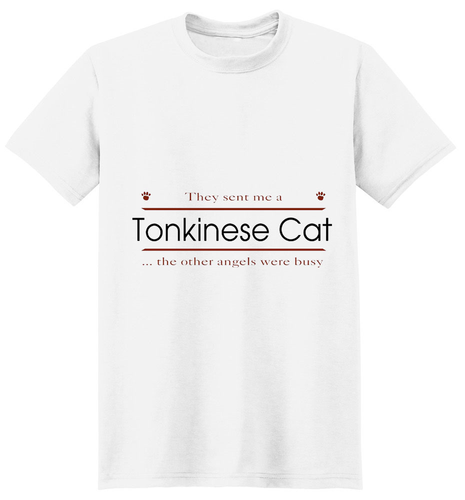 Tonkinese Cat T-Shirt - Other Angels