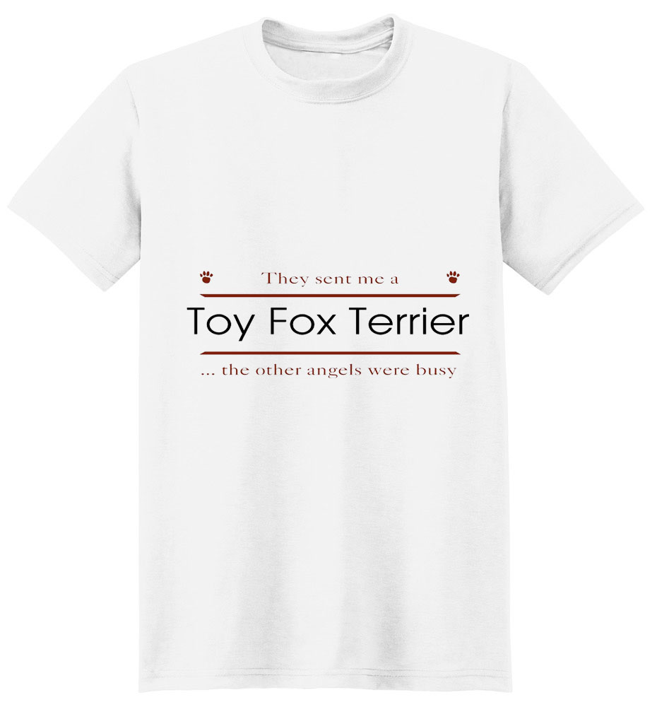 Toy Fox Terrier T-Shirt - Other Angels