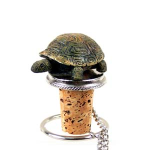 Turtle Bottle Stopper