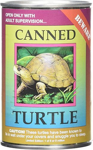 Turtle Canned Critter's 6