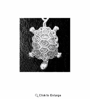 Turtle Sterling Silver Charm