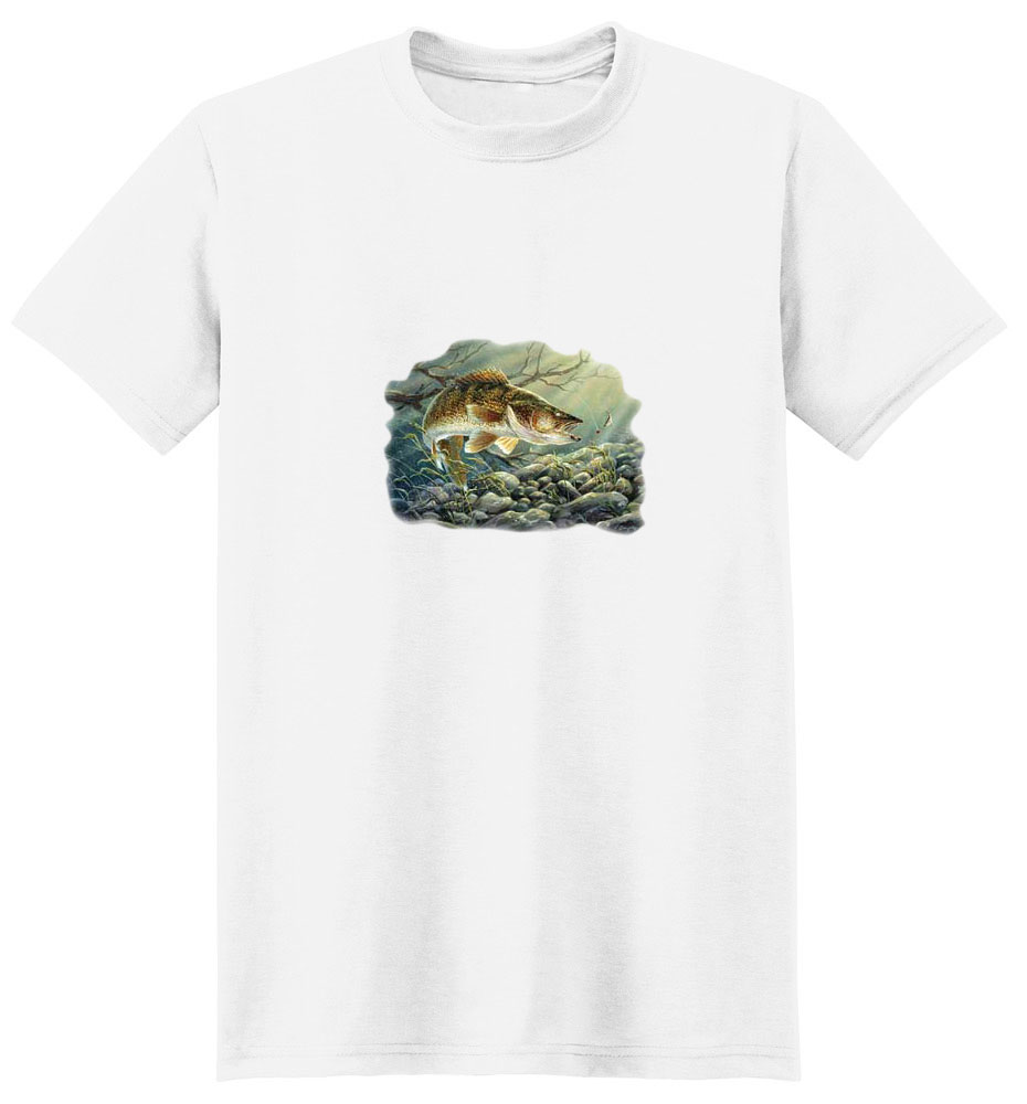 Walleye T-Shirt - About to Strike
