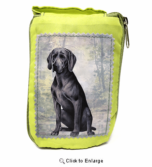 Weimaraner Tote Bag - Foldable to Pouch
