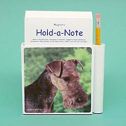 Welsh Terrier Hold-a-Note