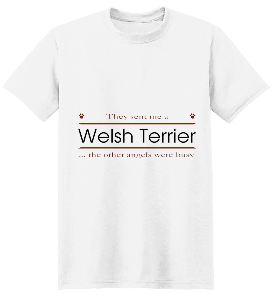 Welsh Terrier T-Shirt - Other Angels
