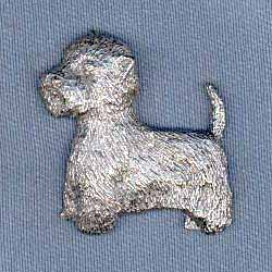 West Highland Terrier Pin